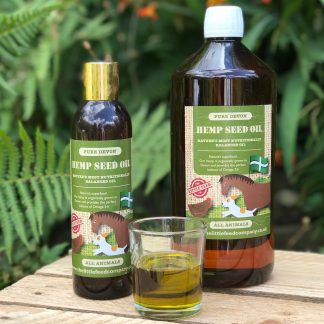Hemp seed oil, oil for chickens, oil for dogs, oil for horses