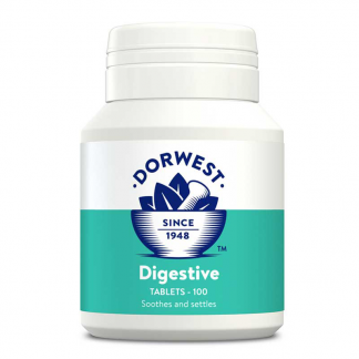 Dorwest digestive tablets, travel sickness tablets for dogs, car sick remedy for dogs