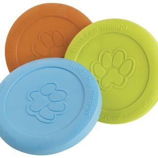dog safe frisbee, Westpaw Zisc, dog frisbee