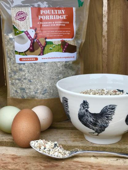 Poultry porridge, porridge for chickens, chicken porridge