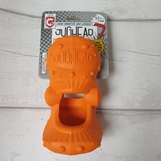 Jughead chew guardian, dog chew holder