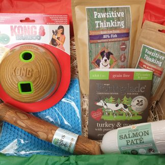 Christmas hamper for dogs, dog hamper
