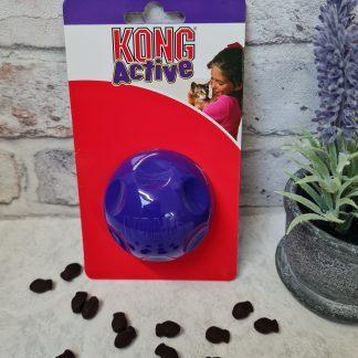 Kong Active, Kong Active Feeder Ball, cat feeder ball, cat treat toy, cat enrichment ideas, Kong Active cat treat dispensing ball