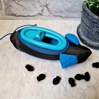 Doc and Phoebe's Hunting Snacker, The Hunting Snacker, cat feeding toy, cat puzzle feeder